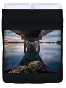 Water Under The Pier Duvet Cover