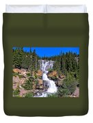 Water Water And More Water Hence Waterfall Duvet Cover