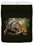 Water Wheel Duvet Cover by Marty Koch