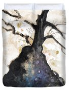 Watercolor Branches Duvet Cover by Tara Thelen