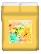 Watercolor Wildflowers - Digital Paint Duvet Cover