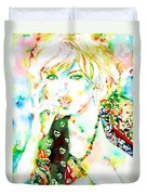 Watercolor Woman.3 Duvet Cover