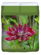 Waterdrops On Petals  Duvet Cover