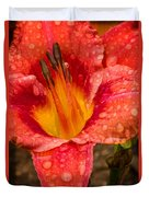 Watered Lily Duvet Cover