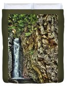 Waterfall At Castle In The Clouds Duvet Cover