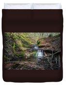 Waterfall At Parfrey's Glen Duvet Cover