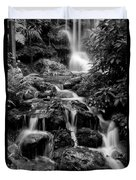 Waterfall At Rainbow Springs Duvet Cover