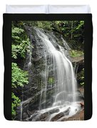 Waterfall Bay Of Fundy Duvet Cover