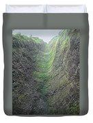 100453-waterfall Chute  Duvet Cover