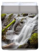 Waterfall Close Up In Marlay Park Duvet Cover