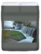 Waterfall Close Up Duvet Cover