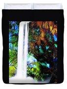Waterfall Enchantment II Duvet Cover
