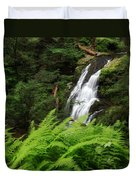 Waterfall Fern Square Duvet Cover