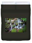 Waterfall In Marlay Park Duvet Cover