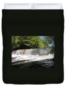 Waterfall In Woodstock Vermont Duvet Cover