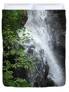 Waterfall Mine Kill State Park New York Duvet Cover