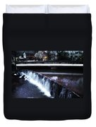 Waterfall New Hope Pa Duvet Cover