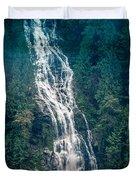 Waterfall Princess Louisa Inlet Duvet Cover