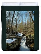 Waterfall Rush Duvet Cover