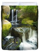 Waterfall Stream Duvet Cover