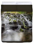 Waterfalls In Marlay Park Duvet Cover