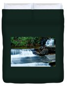 Waterfalls Of Carreck Creek Duvet Cover