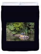 Waterfowl Pond Duvet Cover