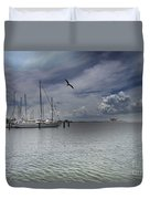 Waterfront View  Duvet Cover