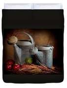 Watering Cans Duvet Cover