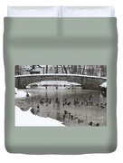 Watering Hole Ducks Only Duvet Cover