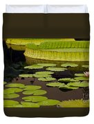 Waterlily Charm Duvet Cover