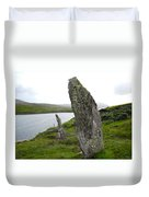 Waters Edge Stones At Bernera Duvet Cover