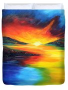Waters Of Home Duvet Cover
