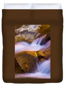 Waters Of Zion Duvet Cover