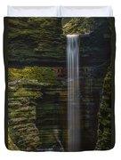 Watkins Glen Central Cascade Duvet Cover