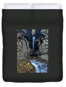 Watkins Glen Central Cascade Duvet Cover