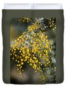 Wattle Flowers Duvet Cover