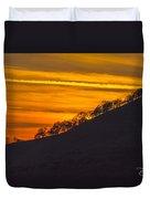 Watts Valley Sunset Duvet Cover