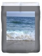 Wave Crashing On The Beach Duvet Cover
