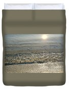 Wave On The Beach Duvet Cover