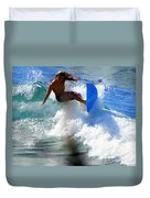 Wave Rider Duvet Cover