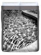 By The Pool Palm Springs Duvet Cover