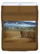 Waves And Clouds  Duvet Cover