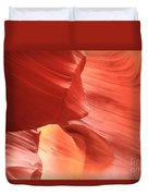 Waves Faces And Light Duvet Cover