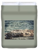 Waves In Time IIi Duvet Cover