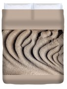Waves Of A Desert - Mesquite Sand Dunes Duvet Cover