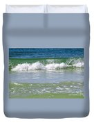 Waves Of The Gulf Of Mexico Duvet Cover