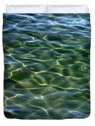 Waves On Lake Tahoe Duvet Cover