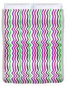 Wavy Stripe Duvet Cover