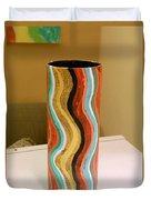 Wavy Vase Duvet Cover